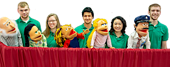 ABC Kings Characters Puppet Show