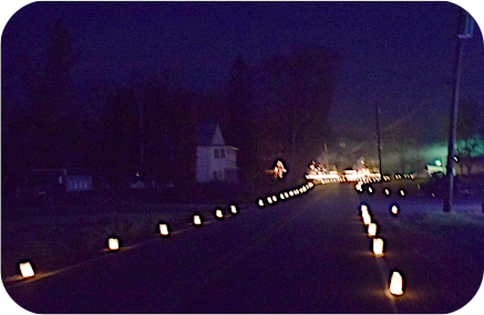 2019 Williamsburg WV Luminaries