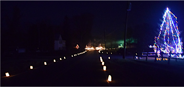 2019 Luminaries and Christmas Lights